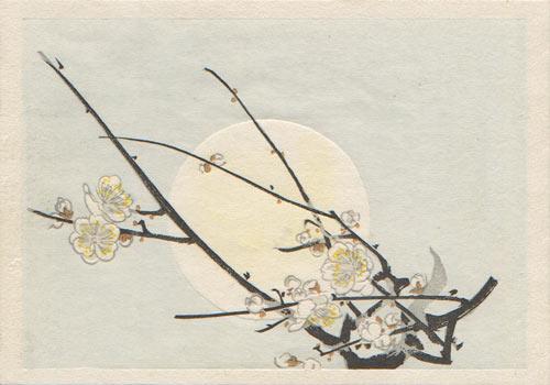 Mishima Shoso woodblock print