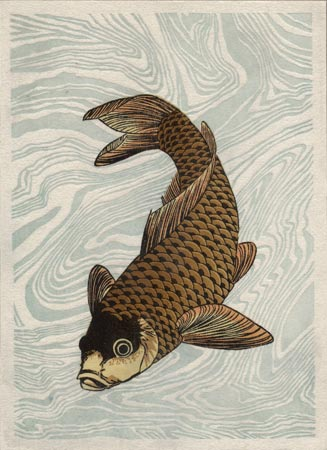 Katsushika Hokusai woodblock print