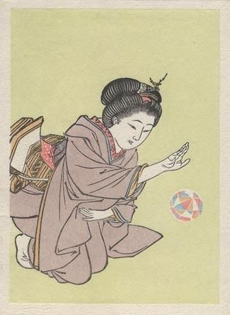 Kobayashi Eitaku print