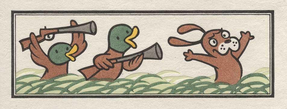 Ducks on the Hunt