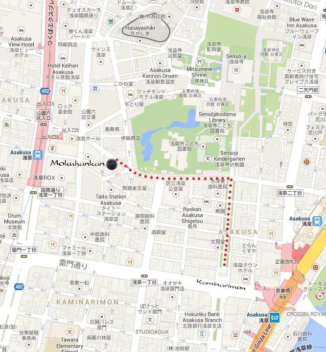 木版館 Map